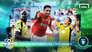 Liga 1 Best XI - Pekan 9 Cover