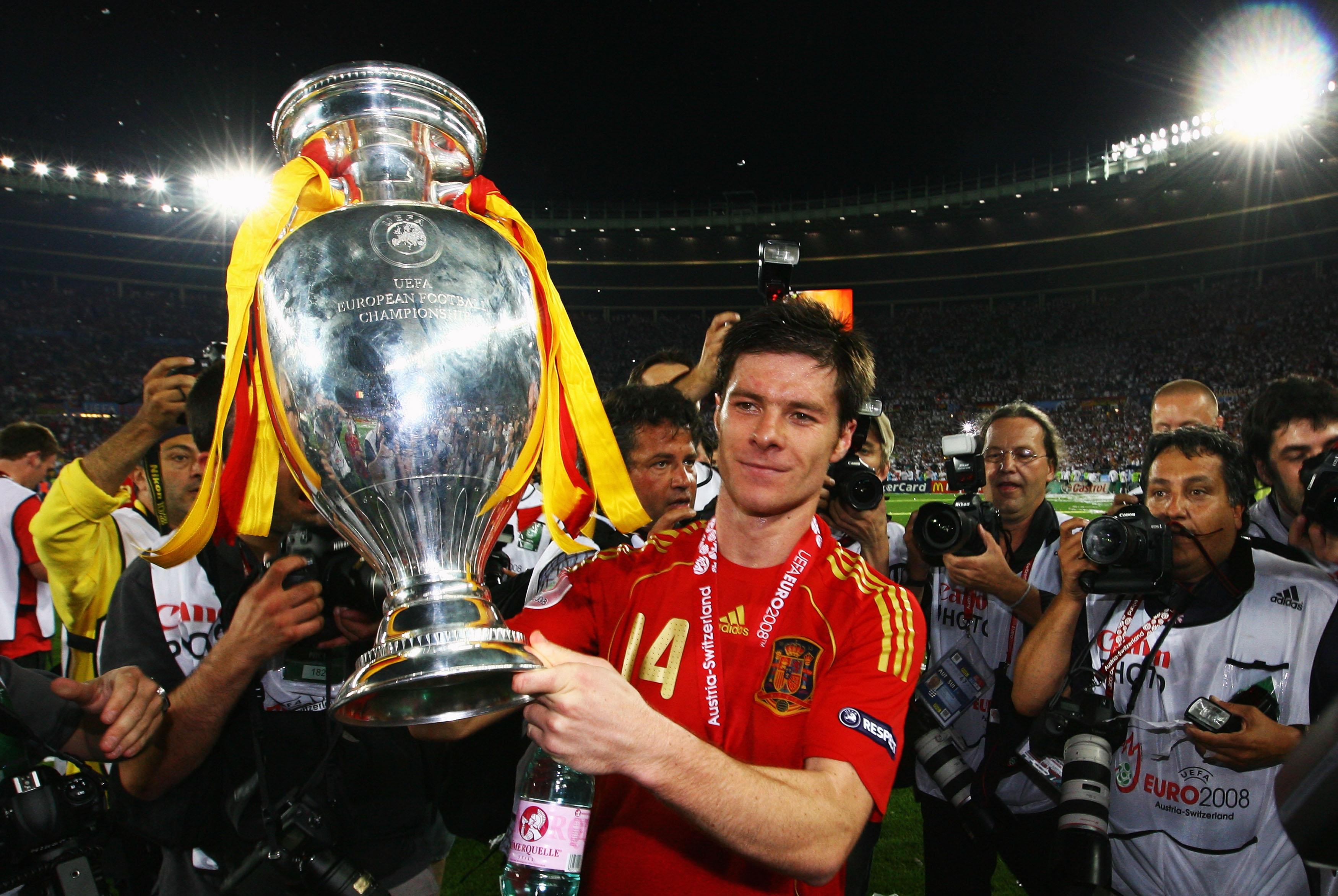 Xabi Alonso, Spain, Euro 2008