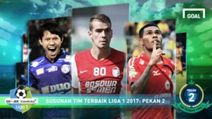 Best XI Liga 1 - Pekan 2 - halaman pertama