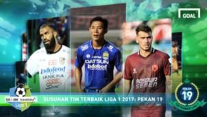 Best XI Liga 1 - Pekan 19