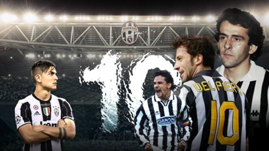Nomor 10 Juventus