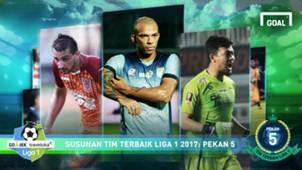 Best XI Liga 1 - Pekan 5