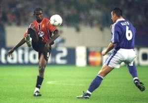Mallorca Champions League 2001/02 Samuel Eto'o