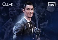 Clear Cristiano Ronaldo - Pemain Terbaik Fifa 2017