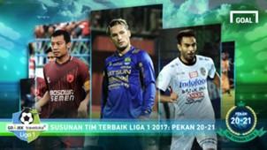Best XI - Liga 1 - Pekan 20-21