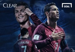 Clear Ronaldo Lewati Gol Pele Cover