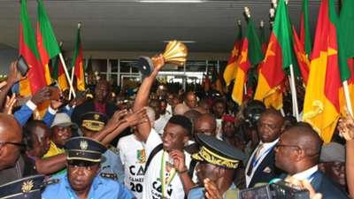 Sambutan Skuat Juara Piala Afrika 2017 Di Kamerun