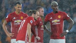 Zlatan Ibrahimovic, Daley Blind, Wayne Rooney, Paul Pogba