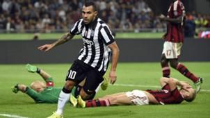 CarlosTevez Juventus AC Milan