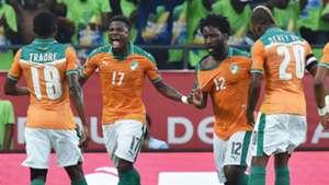 Serge Aurier, Wilfried Bony - Ivory Coast Cote d'Ivoire - African Cup 2017