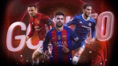 Eden Hazard, Wayne Rooney & Deretan Bintang Top Yang Gagal Tembus Goal 50 2016