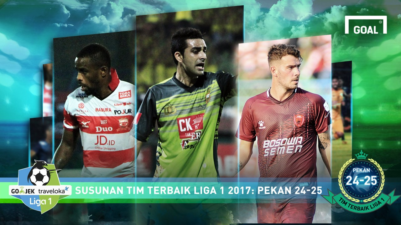 Best XI - Liga 1 - Pekan 24