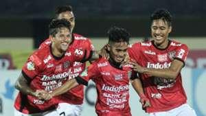 Selebrasi Taufik - Bali United