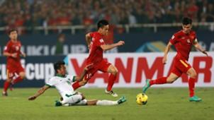 Nguyen Van Quyet - Vietnam & Bayu Pradana - Indonesia AFF Suzuki Cup 2016