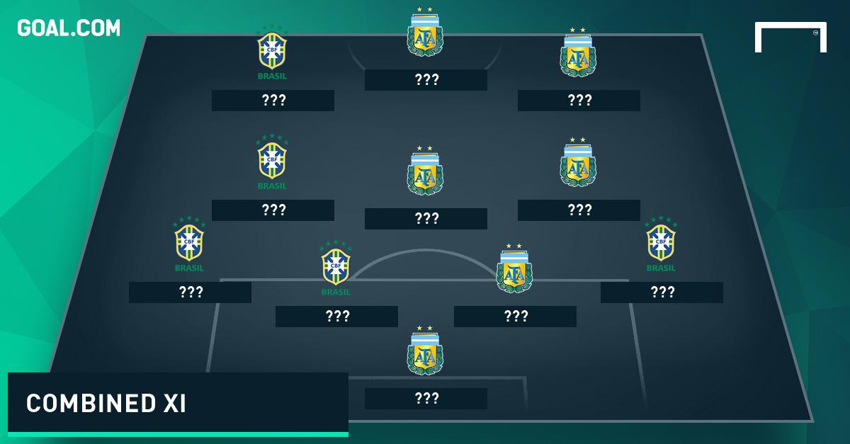 Tim Terbaik Gabungan Brasil & Argentina