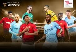 Guinness - Cover Manchester City vs Manchester United