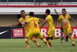 Selebrasi Gol Slamet Budiyono - Sriwijaya FC