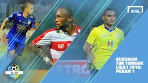 Liga 1 - Terbaik - Pekan 8