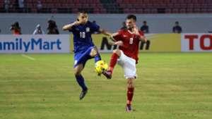 Chanatip Songkrasin - Stefano Lilipaly Indonesia AFF Suzuki Cup 2016