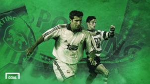 Cristiano Ronaldo, Luis Figo & Superstars Binaan Sporting CP