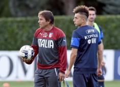Antonio Conte Stephan El Shaarawy Italy