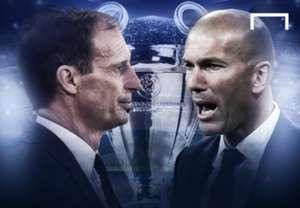Cover Artikel UCL JUVMAD Allegri Zidane