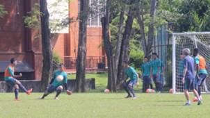 Latihan timnas Indonesia U-22 gelombang kedua