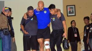 Cedera Sergi Van Dijk - Persib Bandung