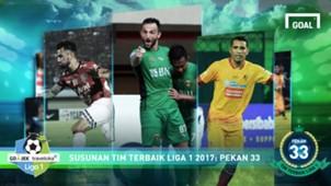 Besy XI - Liga 1 - Pekan 33