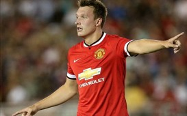 HD Phil Jones Manchester United vs Liverpool 050814 International Champions Cup