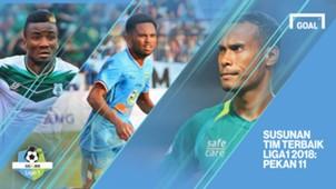 Cover - Liga 1 - Pekan 11