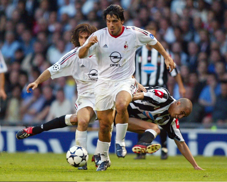 David Trezeguet Juventus AC Milan 2003