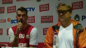 Robert Rene Albert & Wiljan Pluim - PSM Makassar