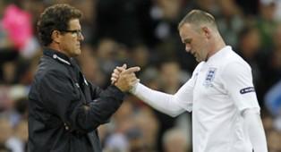 Fabio Capello & Wayne Rooney