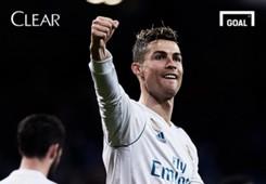 Clear 50 Hat trick Cristiano Ronaldo