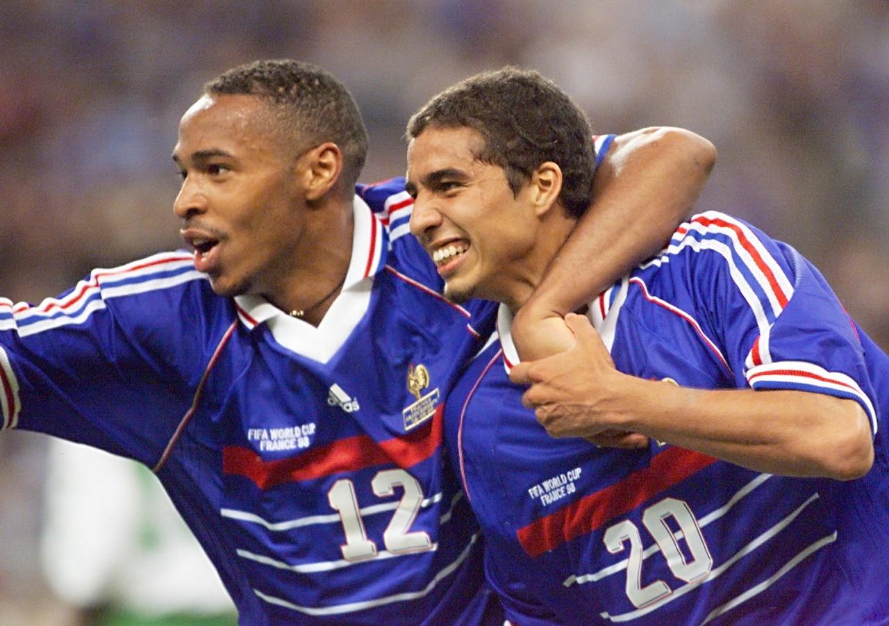 David Trezeguet & Thierry Henry