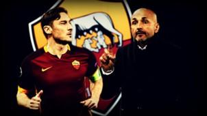 Francesco Totti Luciano Spalletti