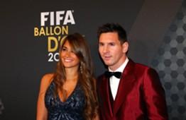 Antonella Rocuzzo - Lionel Messi