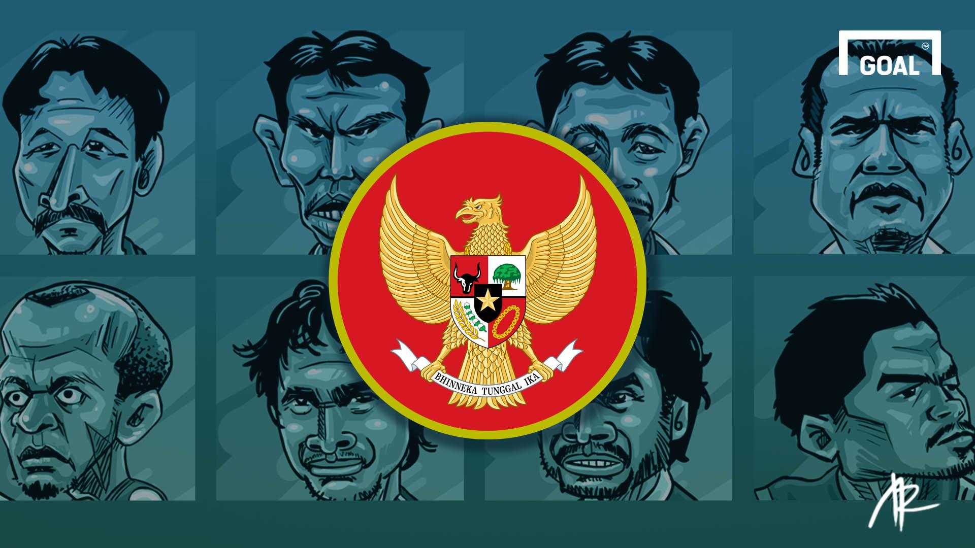 Galeri Kartun Parade Jersey Timnas Indonesia Dari Piala AFF Ke