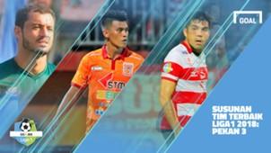 Liga 1 - Terbaik - Pekan 3