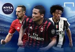 Nivea Men Cover Bacca Cuadrado Ribery