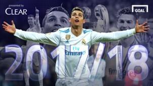Clear - Cristiano Ronaldo Galeri: Rekor 2017/18