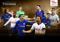 Cover Guinness - Tottenham vs Chelsea