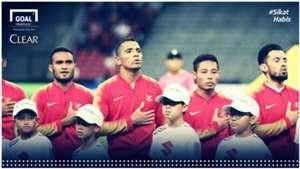 Clear Match Report Singapura Indonesia