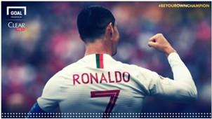 Clear Cristiano Ronaldo Milestone