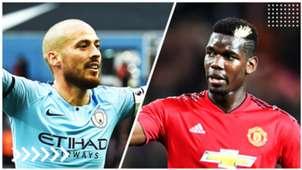 Silva | Manchester City - Pogba | Manchester United