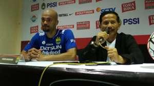 Sergio van Dijk & Djadjang Nurjaman - Persib Bandung