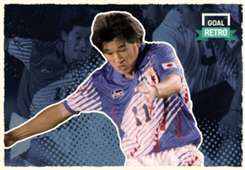 """Goal Retro - Kazu Miura"