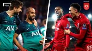 Walls-Tottenham vs Liverpool