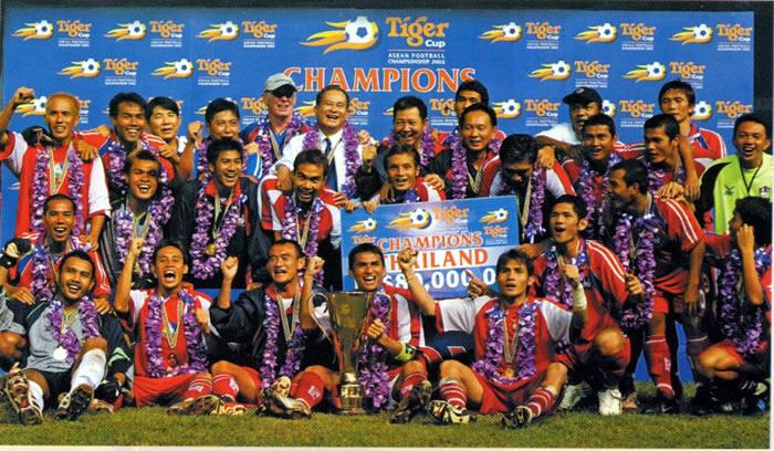 AFF 2002 Champions Thailand